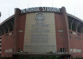 Memorial Stadium. Image via Wikimedia Commons (cropped). Public domain.